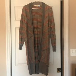 anthropologie knit cardigan