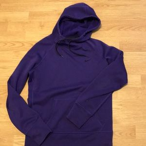 Purple Nike therma-fit hoodie