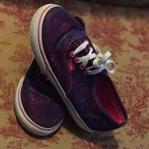 Vans classic in shimmering purple/pink