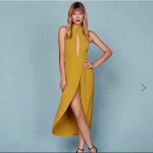 Reformation Chai dress size large!!