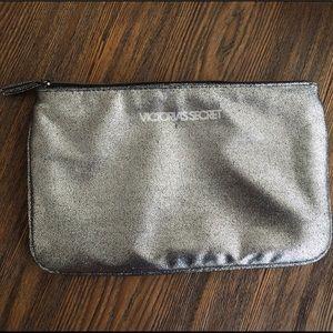 Victoria's Secret Glitter Cosmetic Bag!