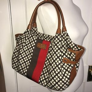 Kate Spade ♠️ large cloth purse or diaper bag