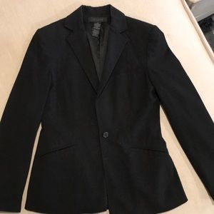 Black Limited Blazer with Pockets