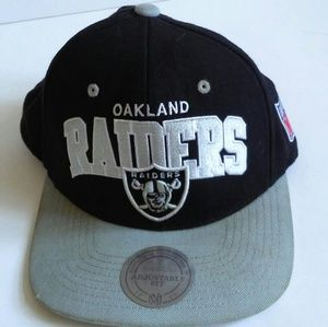 Oakland raiders snap back hat