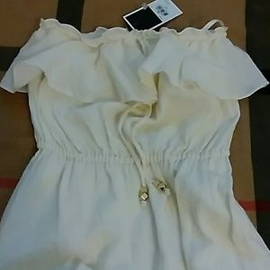 JUICY COUTURE ANGEL RUFFLED MAXI DRESS XS NWTGS