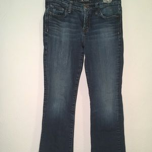 Lucky brand, boot cut jeans