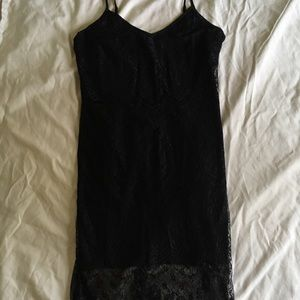 Forever 21 Black Lace Cami Dress