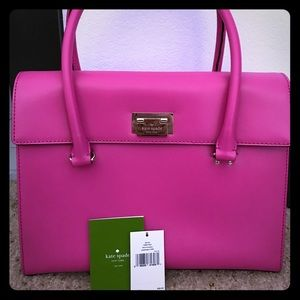 Kate Spade Harwood Place Handbag (Snapdragon)