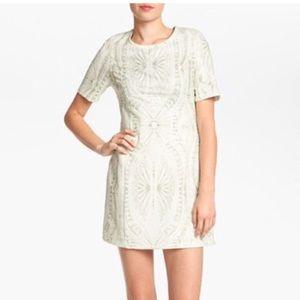 i Madeline print sheath dress