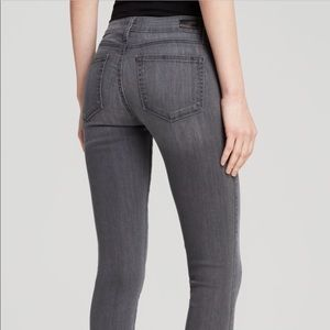 Paige gray skinny jeans