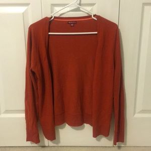 Burnt Orange Cardigan - Like New - Size Medium