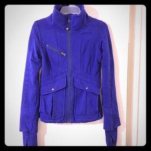 Lululemon zip up jacket, dark purple