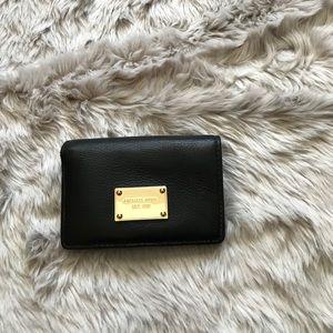 Black/Gold Michael Kors Wallet