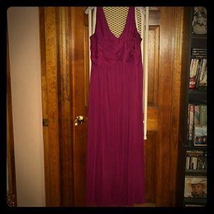 David's Bridal Bridesmaids/Prom dress sz 24