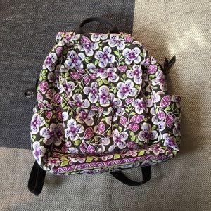Lavender Vera Bradley Backpack