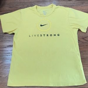 Vintage Nike Livestrong Tee