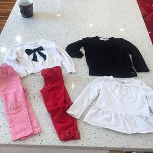 Girl 2t bundle different brands