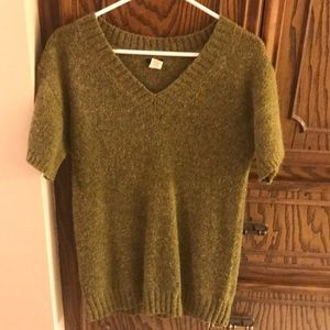 J Crew September Sweater hunter green