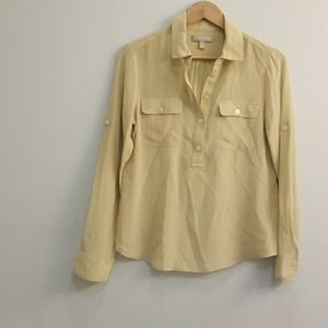 Banana republic silk shirt
