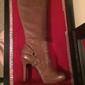 Jessica Simpson Camel Boots