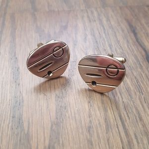 Other - Mid-Century Amorphous Cufflinks