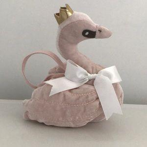 Gap Kids EUC princess swan purse 👛