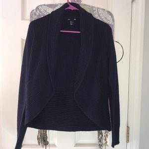 Navy blue cardigan from H&M