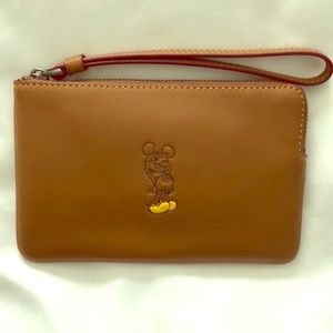 Mickey Mouse Coach Wristlet!