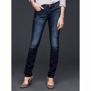 Gap Resolution Slim Straight Jeans Dark Wash