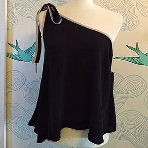 Free People You're The One Top-Black XS