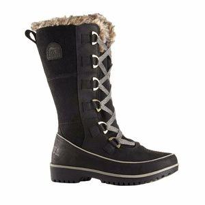 New Tivoli High Premium Black WP Suede Snow Boots