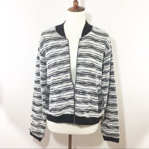 ANTHROPOLOGIE Dolan bomber jacket size XL