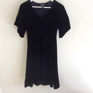 Banana Republic Velvet Silk Dress