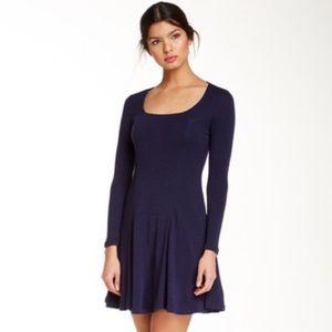 Alice & Olivia Wool Lace Back Dress