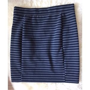 Madewell Ridgestripe Pencil Skirt ✏️