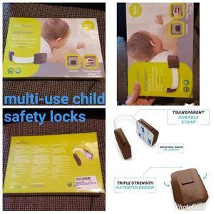 MULTI-USE CHILD SAFETY LOCKS