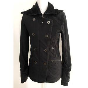 EUC Lululemon Fully Fleece Lined Zip Thick Jacket