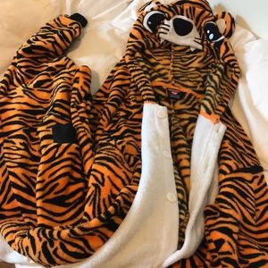 Tiger Onesie with Tail