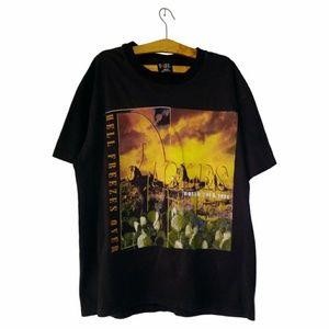 VTG 1994 Eagles Hell Freezes Over World Tour Shirt