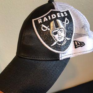 Oakland Raiders woman's hat