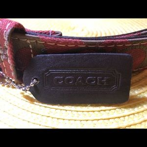 Authentic Coach Belt Size S NWOT