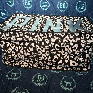 ‼️ON HOLD‼️PINK Victoria Secret Leopard Dorm Trunk