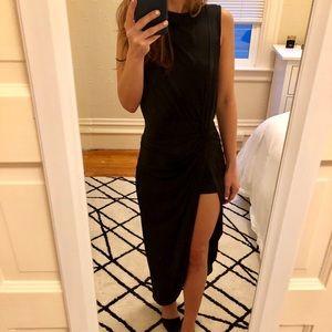 Hi Low Black Dress