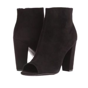 Guess Peep Toe Booties