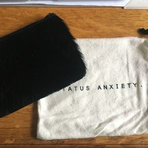 Black Fur Wallet