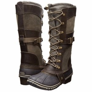 New Sorel Conquest Carly II WP Winter Duck Boots