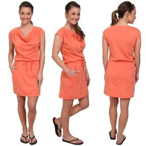The North Face Aurora Dress In Emberglow Orange