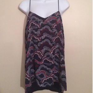 NWT Barcelona Express reversible blouse