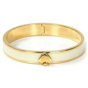 Kate Spade Hinged Enamel Bangle Bracelet