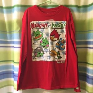 Angry Birds Christmas Shirt